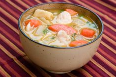 Jamaican Chicken Soup - Caribbean Food nd if you have never tried cooking Jamaican food before, this meal is a great introduction of a popular dish that can be put together in no time.