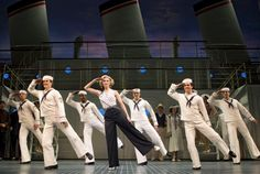 sutton foster in anything goes. nautical + tap dance + musical = in love