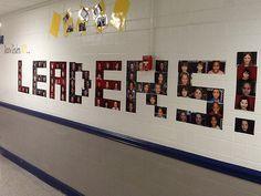 leader in me school hallways | Mrs. White's 5th Grade Class: Week 22- Leader in Me Visit Make School, New School Year, School Stuff, School School, Summer School, Middle School, School Decorations, School Themes, School Ideas