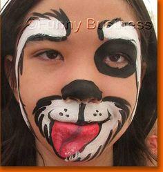 100 Best Face Paint Puppy Images Face Paintings Body Paint Body