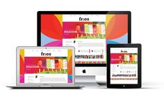 Driskell Creative - Frios Gourmet Pops Web Design Mockup - Branding, Web Design, Web Development