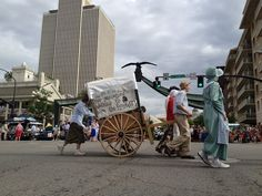 An entry in the 163rd annual Days of '47 KSL 5 Parade in Salt Lake City on July 24, 2012. (Chris Detrick  |  The Salt Lake Tribune)