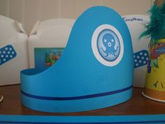 Octonauts Party Hat, great idea for an under sea party. Find all the party supplies at partyweb.us