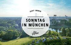 Sonntags in München – in keiner anderen Großstadt steht die Zeit so still wie bei uns. Hier kommen 11 Tipps, damit dein Ruhetag nicht langweilig wird.