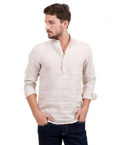 Gömlek : Karaca Erkek Gömlek - Bej