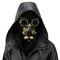 Kids Costumes & Accessories Reasonable Black Retro Rock Anti-fog Haze Gas Respirator Mask Carnival Party Cosplay Gothic Steampunk Props Halloween Costume Accessories