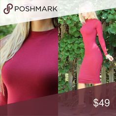 🎄BACK IN! Classic Burgundy Midi 🎁🎄Sold out style is back in stock today! I HAD to bring this beauty back for the Holiday season! ◽️The Classic Burgundy Midi is simply gorgeous, perfect for feeling beautiful during your most special occasions. Body hugging, double lined + not see through, figure flattering. Luxurious jewel tone burgundy. New without tag. 95% viscose 5% spandex, nice sleek stretch. ⭐️Best selling dress, a special piece⭐️  ▫Sizes available:  S M L ▫️I am modeling size S…