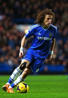 David Luiz Photos - Chelsea v Manchester United - Premier League - Zimbio http://www.footballersdirect.com/ #footballersdirect