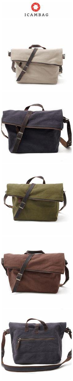 Single Shoulder Canvas Bag,Men;And Women Messenger Bag, 14'' Laptop IPAD Bag 80253