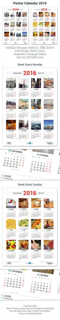 Calendar 2017 Business V2 | Http://Www.Jennisonbeautysupply.Com