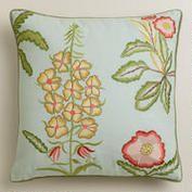 Botanical Throw Pillow