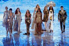 Team Supermodel · London 2012 Closing Ceremony