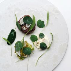 You know it's good when you're still thinking about it a few days later.. Tenderloin, burrata, ramsons, and nasturtium by @christiangadient #TheArtOfPlating #TAOPtravels