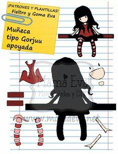 Más muñecas en la sección nueva en mamaeva.net Applique Patterns, Craft Patterns, Felt Animal Patterns, Felt Name, Scrapbook Patterns, Felt Templates, Felt Quiet Books, Foam Crafts, Craft Foam