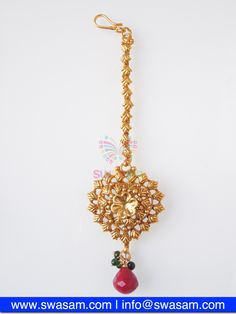 Indian Jewelry Store | Swasam.com: Tikka with Perls and White Stones - Tikka - Jewelry Shop to Buy The Best Indian Jewelry  http://www.swasam.com/jewelry/tikka/tikka-with-perls-and-white-stones-1519.html?___SID=U  #indianjewelry #indian #jewelry #tikka