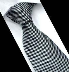 Fashion 6 cm Soie Homme Skinny Cravate Mouchoir Set Liens bleu marine à rayures bleu mariage