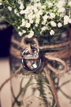 cute shot of the rings.