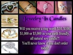 What Will Your Reveal??? Shop Jewelry In Candles https://www.jewelryincandles.com/store/allysonpaden