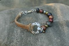Say I LOVE YOU with a Heart Bracelet  by simplepleasurestx on Etsy, $16.00
