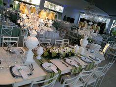 Decoração casamento E&C, mesa família