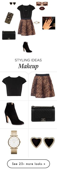 """""""Untitled #174"""" by qwert123456 on Polyvore featuring Alice + Olivia, Jimmy Choo, ADORNIA, Marc by Marc Jacobs, Lime Crime, Chanel and Kate Spade"""