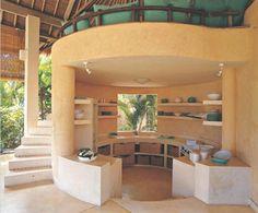 kitchen in the round