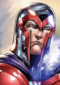 Magneto (Max Eisenhardt) | art by Edgar Salazar