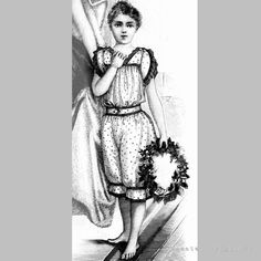 Victorian Reproduction PDF Pattern  1890's  by RepeatedOriginals, $15.00