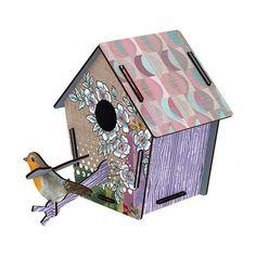 Maak je #kamer extra gezellig met dit vrolijke #vogelhuisje #Casa van #MIHO Unexpected Things!