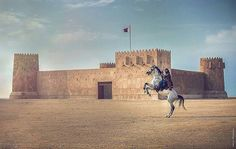 Horse Back Archer at Al Zubarah Fort #Qatar @mariasphotoclicks Like  Comment  Tag  TAG YOUR Awesome Photos  #Qatarism