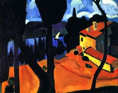 "bofransson: "" The Bay of Martigues André Derain - 1908 """