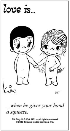 "Remember ""Love Is"" an inappropriate cartoon with meaning that we collected from…"