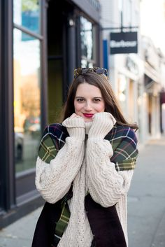 f0312d657d7 How to Style a Cable Knit Sweater on the Golden Girl Blog! Cable Knit  Sweaters