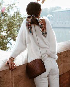 Mode inspo – Bohemian Beach Babe Le total look blanc en hiver - Le Dressing Idéal Winter Outfits For Teen Girls, Cute Winter Outfits, Spring Outfits, Casual Outfits, Cute Outfits, Outfits 2016, Autumn Outfits, Winter Dresses, Look Fashion