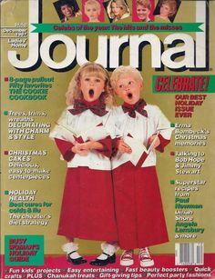 Ladies Home Journal Magazine - December 1987 - Christmas Issue
