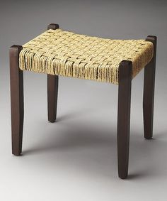 Loving this Jute Rope Stool on #zulily! #zulilyfinds