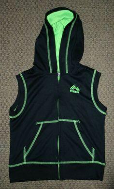 10//12 , Cobalt Blue Heather//Black Medium Gerry Kids Youth Boys Quarter Zip Lightweight Athletic Fleece Lined Sweatshirt Jacket