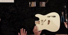 How to Install a #Telecaster Bridge? In this video, John Dreyer is joined by Chris Fleming with #Fender R&D to showcase the steps needed to install a Telecaster bridge. #learnguitar