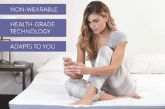 EIGHT: Sleep Tracker & Smart Bed Cover | Indiegogo.   A mattress cover that tracks your sleep, warms up the bed, and connects to other smart products.