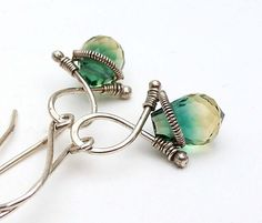 wire wrap jewelry/like cut top on crystals