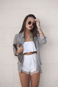 ♡ Clothes Casual Outfit for Fashion Moda, Teen Fashion, Love Fashion, Fashion Outfits, Womens Fashion, Daily Fashion, Street Style Outfits, Casual Outfits, Cute Outfits
