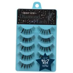 Diamond Lash Japan False Eyelash - Girly Style DL51588. 5 pairs (10) must all be on one pack.