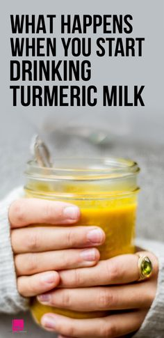What Happens When You Start Drinking Turmeric Milk