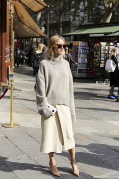 style over 50 - Style It Up Style Désinvolte Chic, 50 Style, Classic Style, Looks Street Style, Looks Style, Casual Chic, Beige Outfit, Mode Inspiration, Autumn Winter Fashion