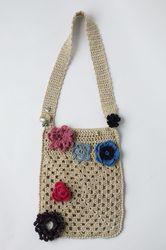 borsa per libri o altro (uncinetto; schema sul sito) - book bag (crochet; link to the english pattern on my website)