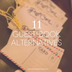 Sunday S Most Loved Guest Book Alternative Ideas