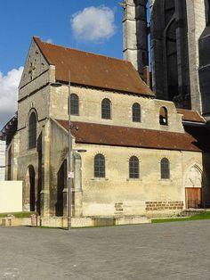Église Notre-Dame-de-la-Basse-Œuvre de Beauvais, bâtie vers l'an 950.