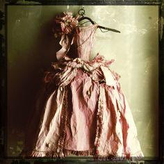 ♕ Paper Dress by Miss Clara