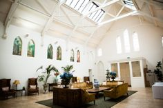 The Grand Gallery. A  restored 19th Century Unitarian chapel. Perfect for a reception area, buffets, exhibitions. By John Charlton Photography.