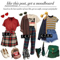 comment which number your like ends in xoxo . I hope u guys like this disjdj i watched hereditary tonight and I was so SHOOK it was super…- Sa Grunge Outfits, Hipster Outfits, Edgy Outfits, Retro Outfits, Vintage Outfits, Vintage Clothing, Goth Outfit, 90s Outfit, 80s Fashion